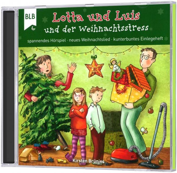 Lotta und Luis und der Weihnachtsstress - CD