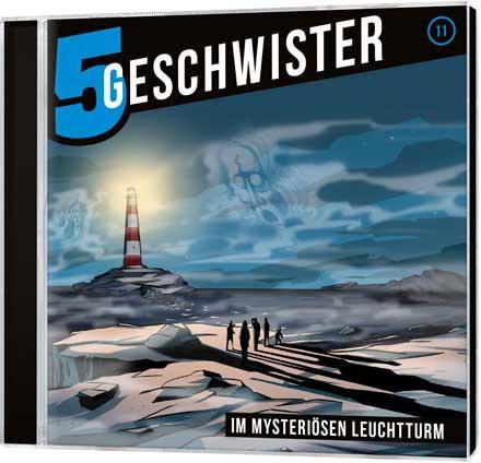 5 Geschwister CD (11) - Im mysteriösen Leuchtturm