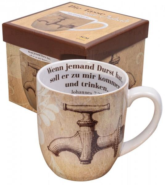 Die Tasse mit Inhalt ''Durst''