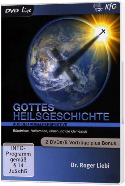 Gottes Heilsgeschichte aus der Vogelperspektive (2 DVDs)
