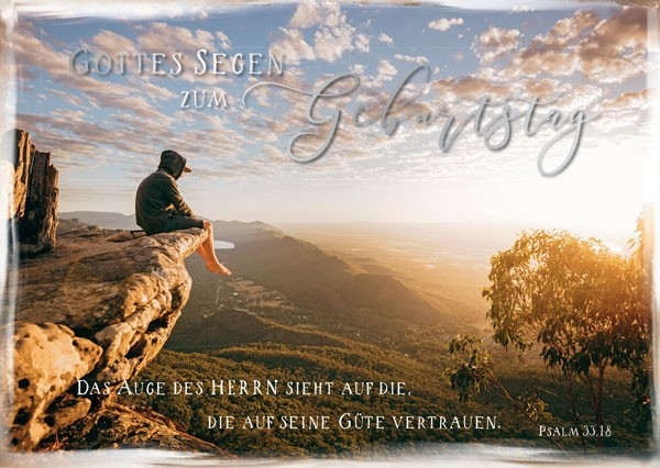 """Postkarte """"Das Auge des Herrn"""""""