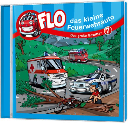 Flo - Das kleine Feuerwehrauto (7) - CD