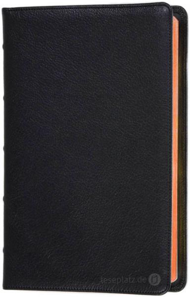Elberfelder 2003 - Standardausgabe Premium / Ziegenleder / Rotgoldschnitt
