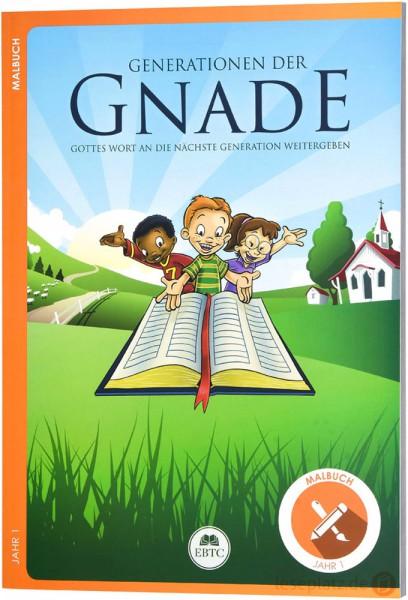 Malbuch - Jahr 1 - Generationen der Gnade