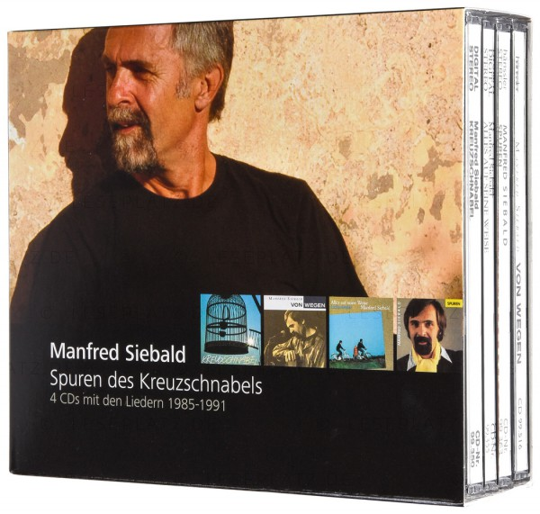 Spuren des Kreuzschnabels - CD-Box