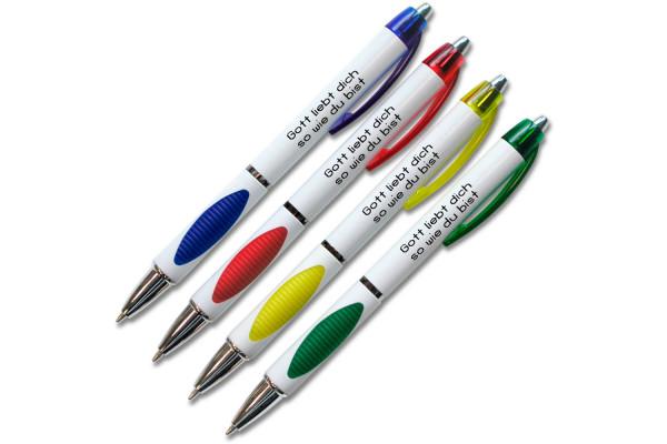 """Kugelschreiber """"Gott liebt dich..."""""""