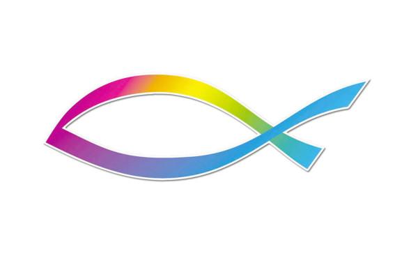 Autoaufkleber Fisch ''Design''