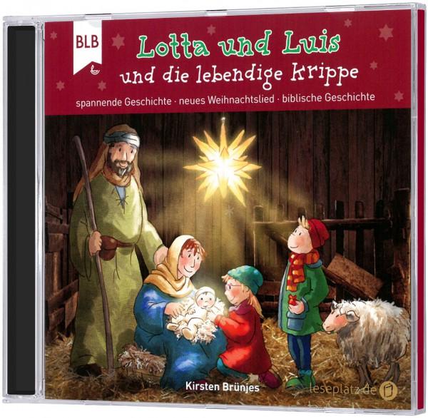 Lotta und Luis und die lebendige Krippe - CD
