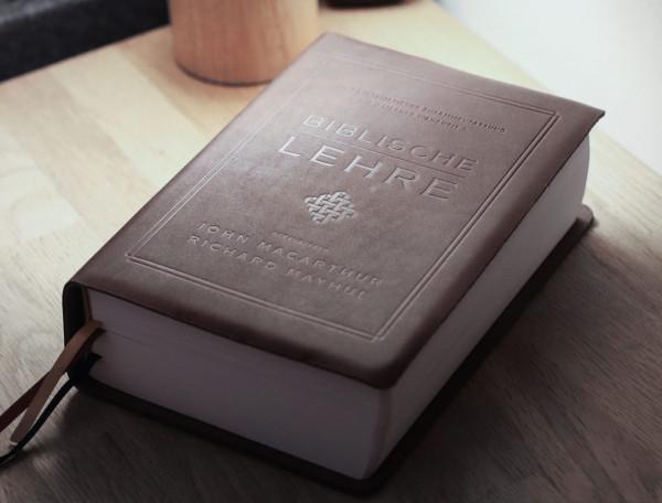 Biblische Lehre - Lederausgabe