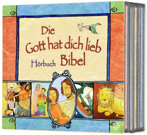 Die Gott hat dich lieb - Hörbuch-Bibel-Box