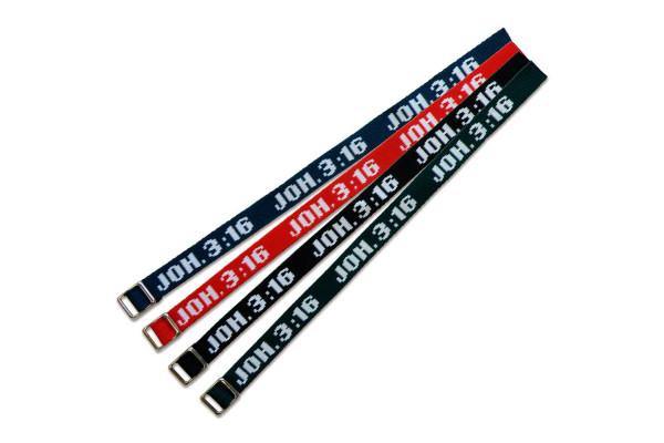 """Armband """"Joh 3,16"""""""