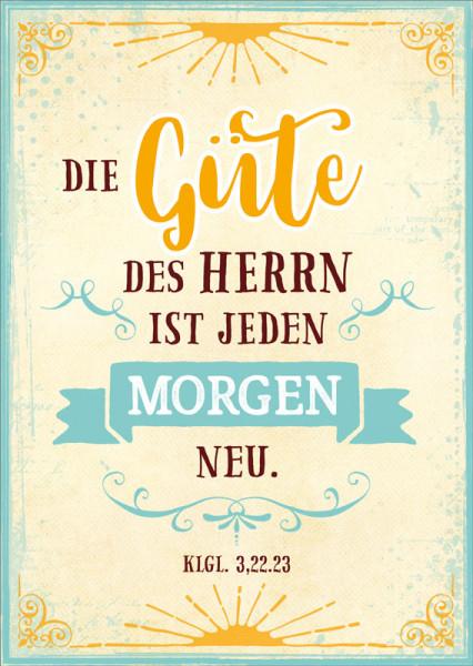 """Postkarte """"Die Güte des Herrn"""""""