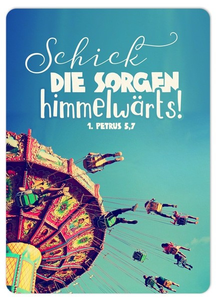 "Postkarte ""Big Blessing - Himmelwärts"""
