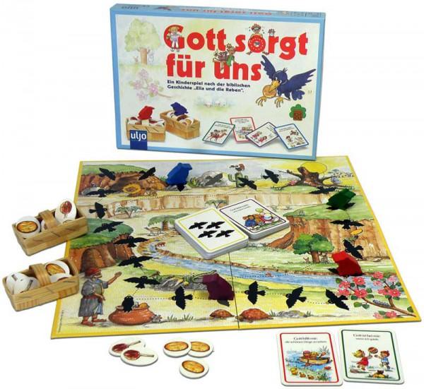 Kinderspiel ''Gott sorgt für uns''