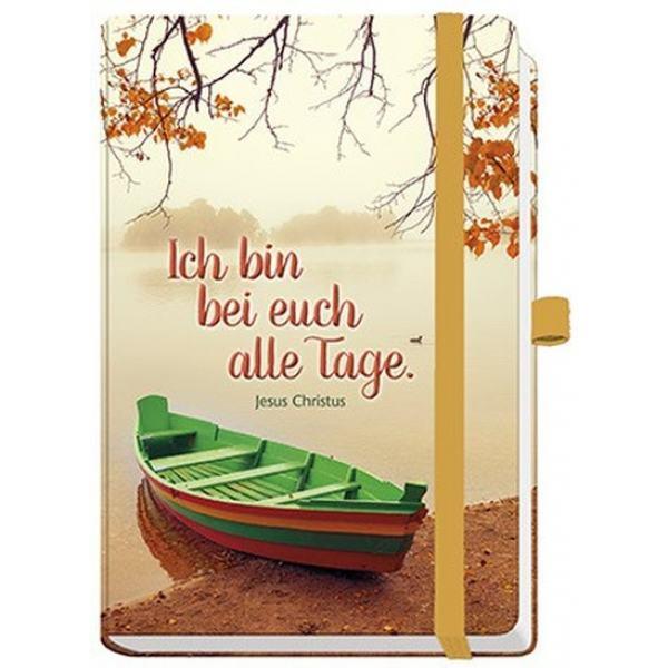 """Notizbuch Maxi """" Ich bin bei euch alle Tage"""""""