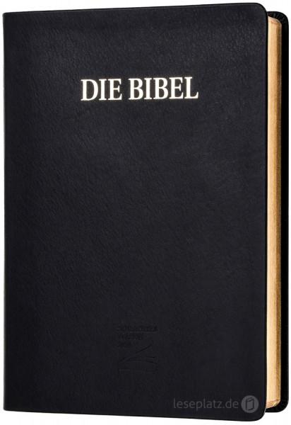 Schlachter 2000 - Schreibrandausgabe Echtleder / Goldschnitt