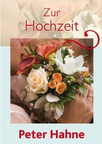 Zur Hochzeit - Grußbrief