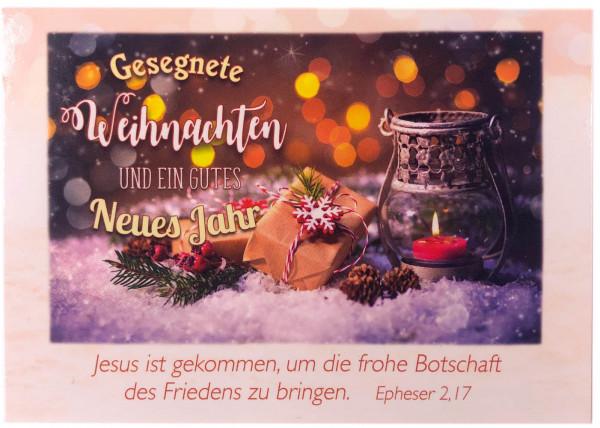 Postkarten Weihnachten/Neujahr