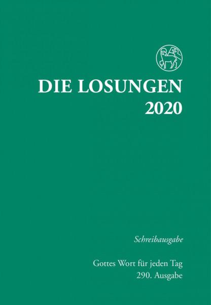Losungen 2020 grün - Schreibausgabe