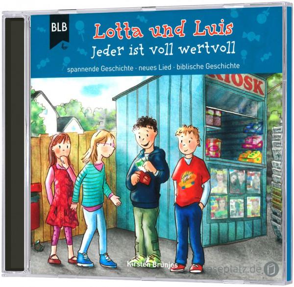 Lotta und Luis - Jeder ist voll wertvoll - CD