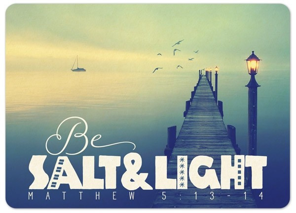 "Postkarte ""Big Blessing - Salt & light"""