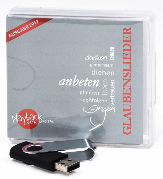 Glaubenslieder - Neue Ausgabe - USB-Stick
