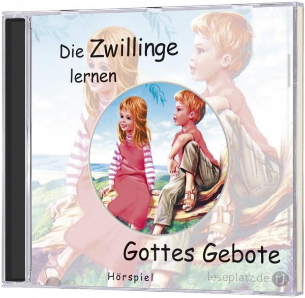 Die Zwillinge lernen Gottes Gebote - CD