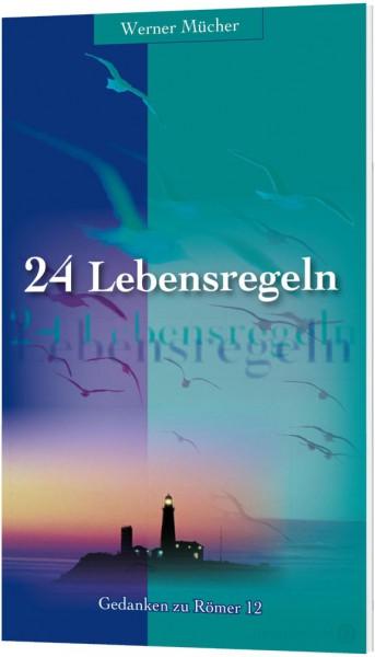 24 Lebensregeln