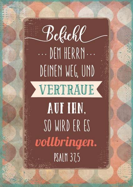 """Postkarte """"Befiehl dem Herrn"""""""
