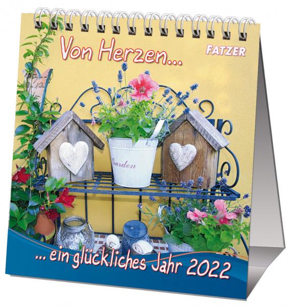 Von Herzen ein glückliches Jahr 2022