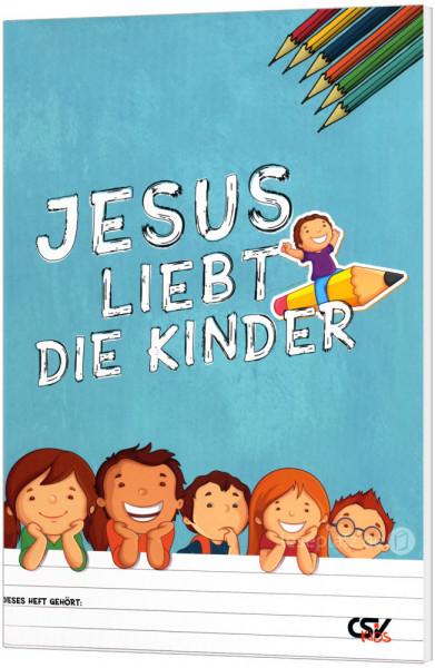 Jesus liebt die Kinder - Malbuch