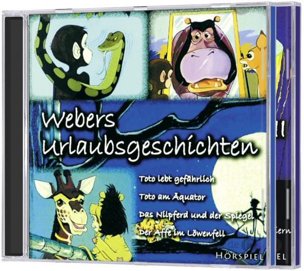 CD-Set - Webers Urlaubsgeschichten