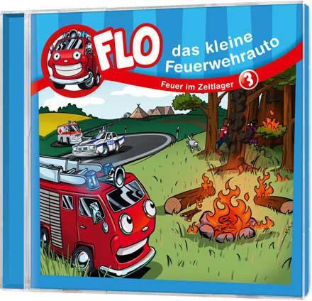 Flo - Das kleine Feuerwehrauto (3) - CD