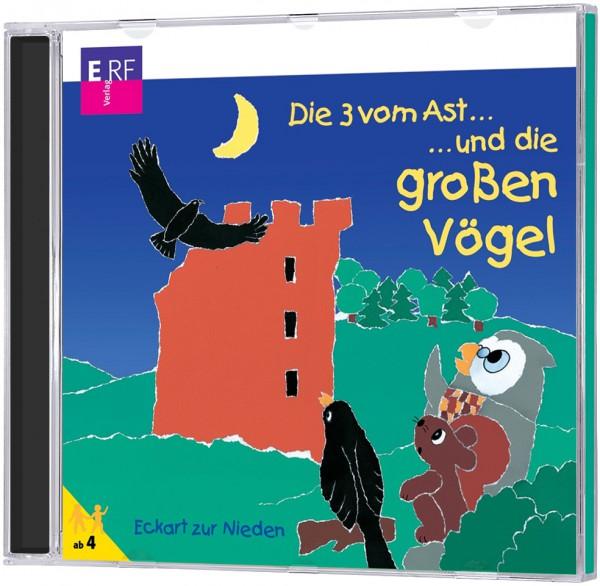 Die 3 vom Ast ... und die großen Vögel - CD