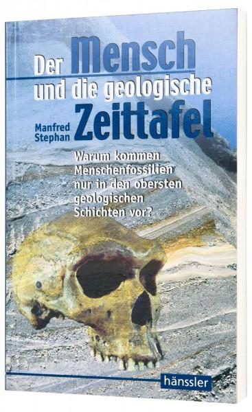 Der Mensch und die geologische Zeittafel