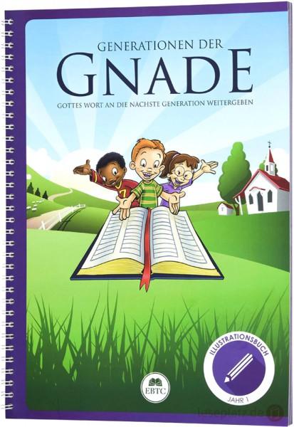 Illustrationsbuch - Jahr 1 - Generationen der Gnade