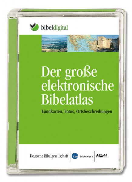 Der große elektronische Bibelatlas - CD-ROM