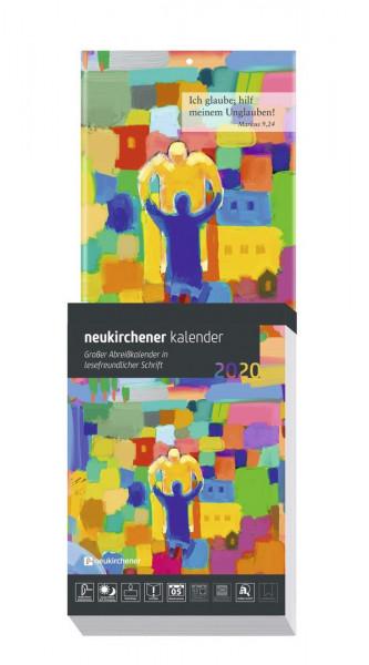 Neukirchener Abreißkalender 2020 - Großdruckausgabe
