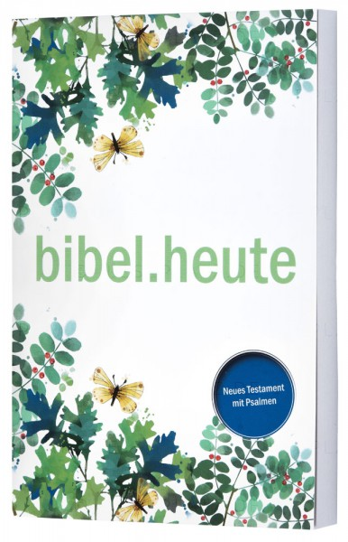 """NeÜ - Neues Testament mit Psalmen """"Blätter"""""""