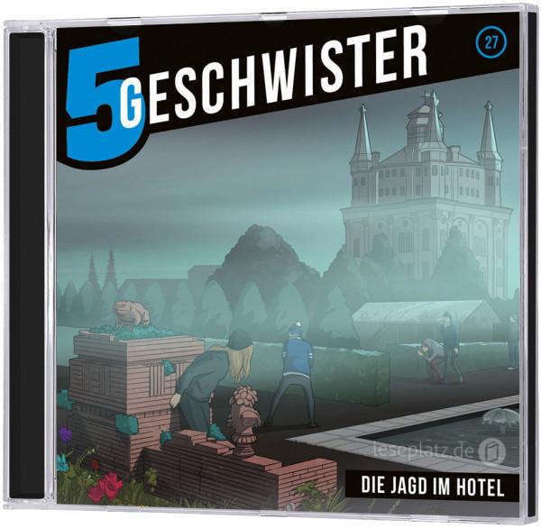 5 Geschwister CD (27) - Die Jagd im Hotel