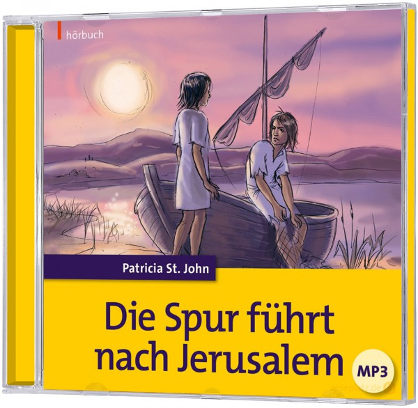 Die Spur führt nach Jerusalem - Hörbuch (mp3-CD)