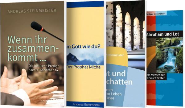 Andreas Steinmeister-Buchpaket