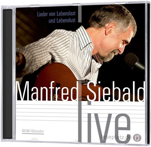 "Manfred Siebald ""Live"" - CD"