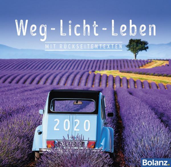 Weg - Licht - Leben 2020 - Tischkalender