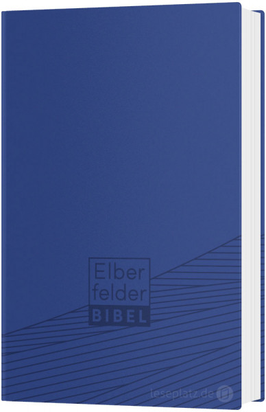 Elberfelder Bibel 2006 Taschenausgabe - Kunstleder blau