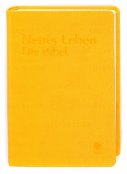 Neues Leben. Die Bibel - Taschenausgabe ital. Kunstleder primavera-gelb