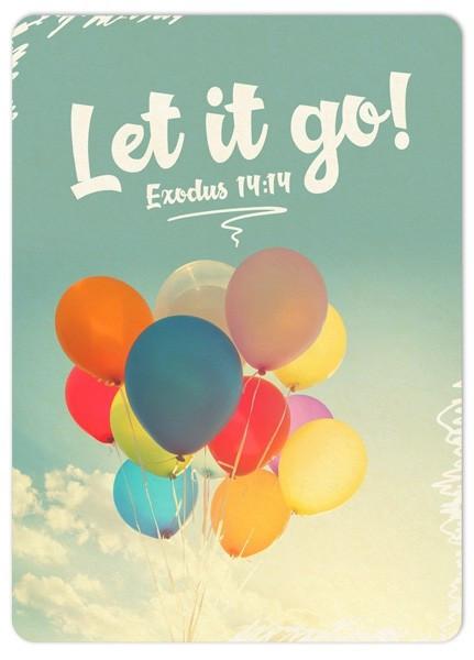 "Postkarte ""Big Blessing - Let it go"""