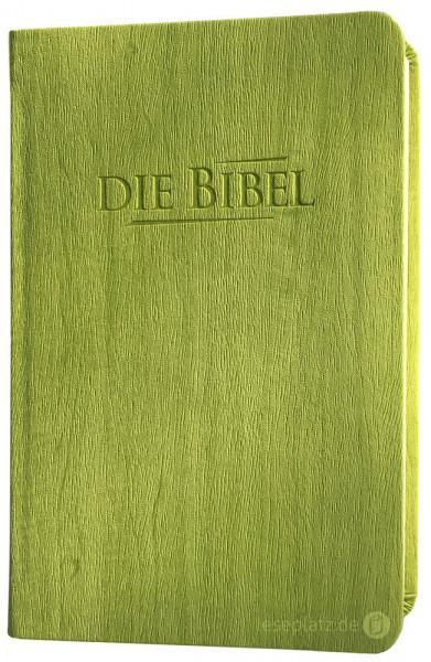 Elberfelder 2003 - Taschenausgabe / PU-Kunstleder hellgrün