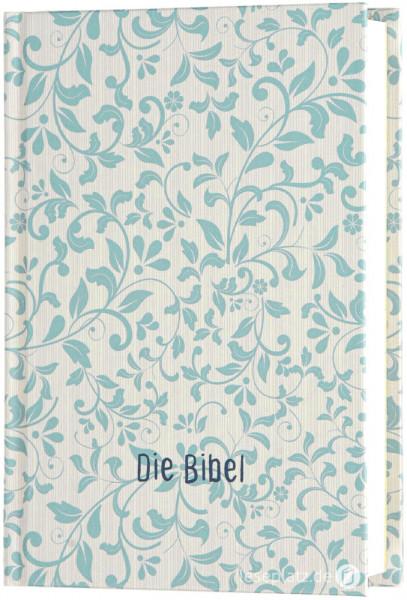 Elberfelder 2003 - Pocketausgabe / Hardcover / Rankenmuster