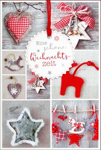 """Faltkarte """"Schöne Weihnachtszeit"""""""